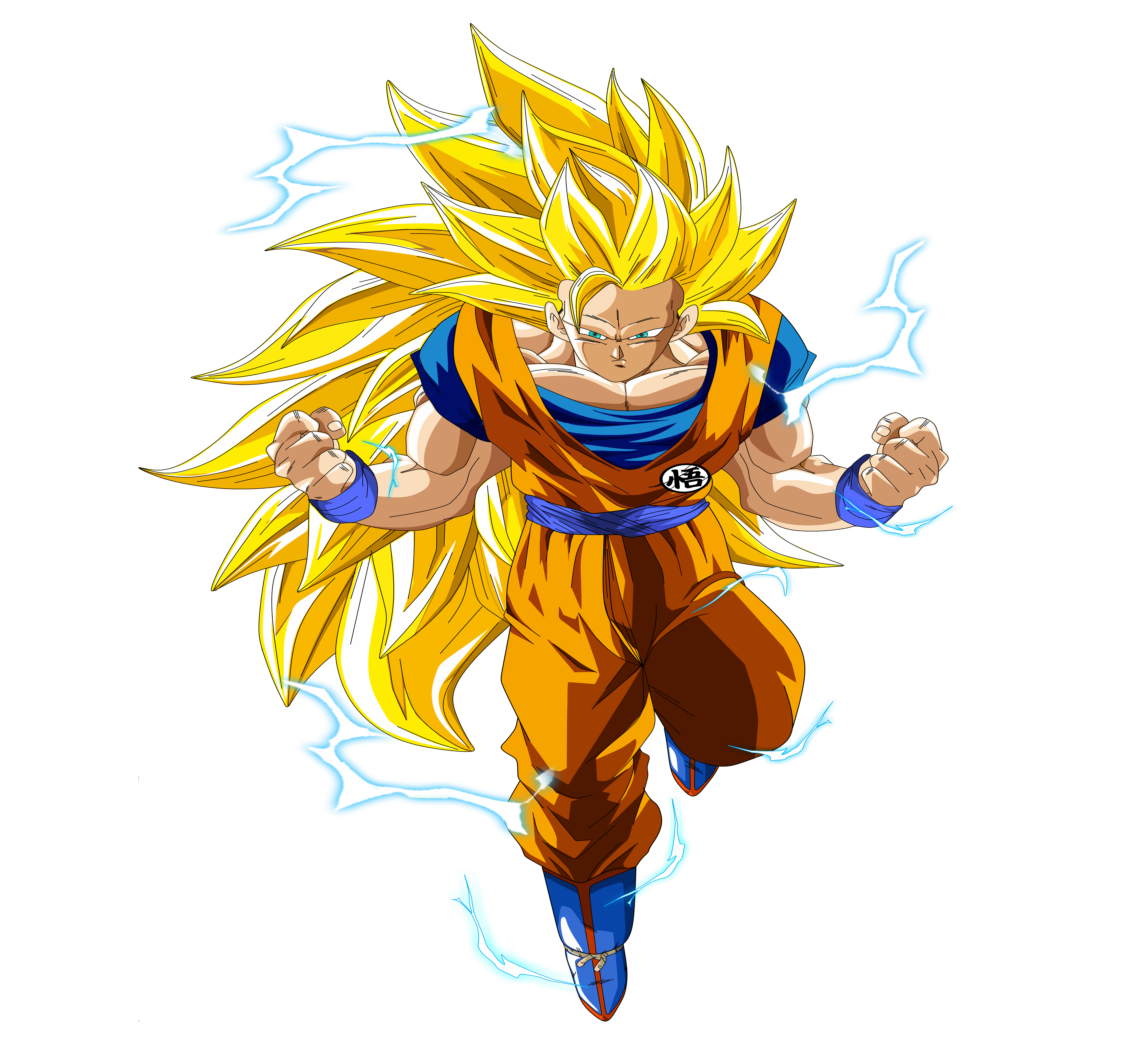 Goku Wallpaper Hd: Goku SSJ3 5k Retina Ultra HD Wallpaper