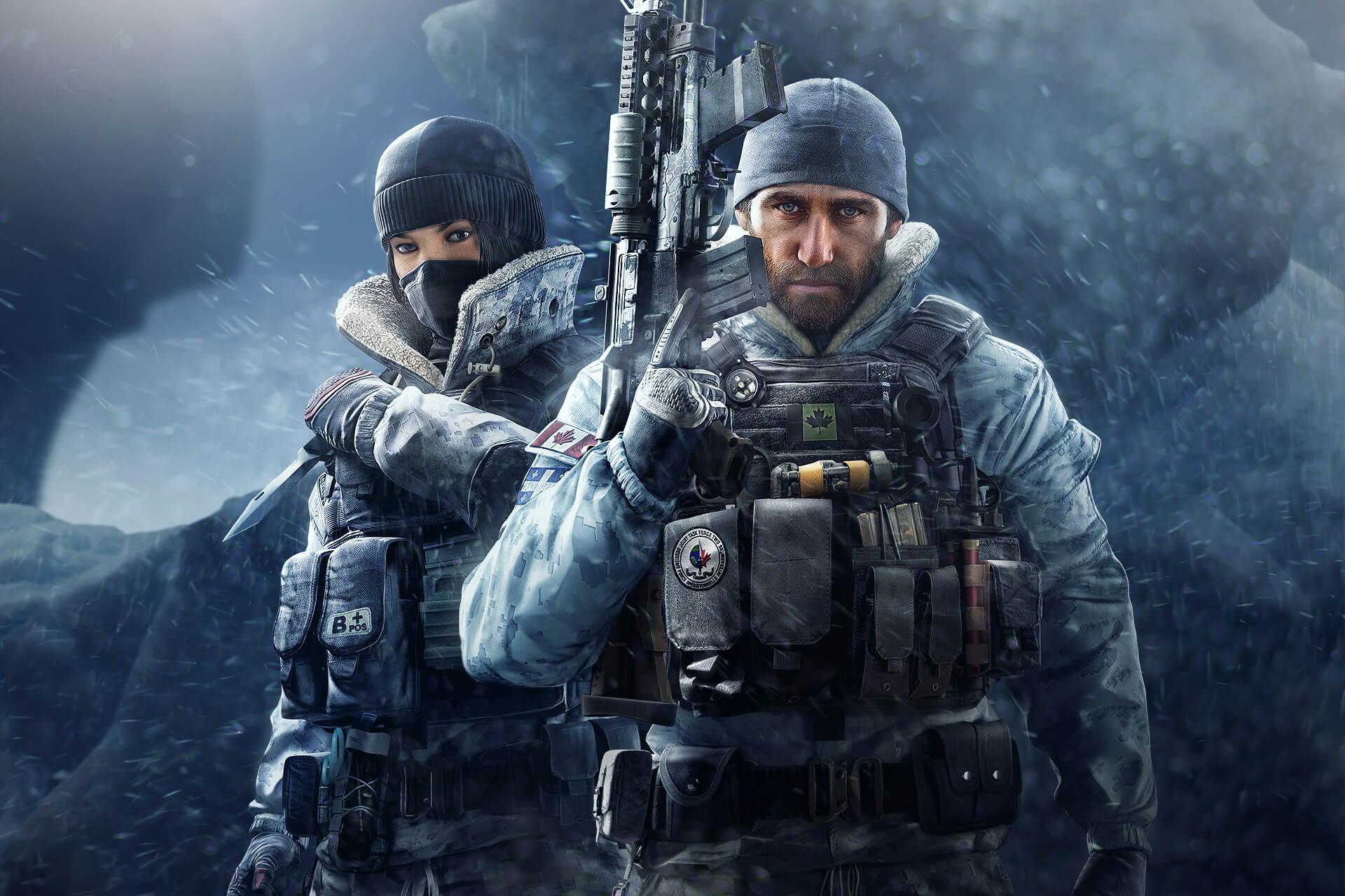 Tom Clancys Rainbow Six Siege Hd Wallpaper Hintergrund