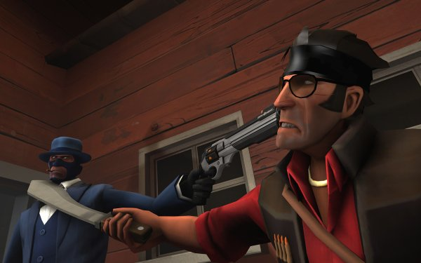 Video Game Team Fortress 2 Team Fortress Spy Sniper HD Wallpaper | Background Image