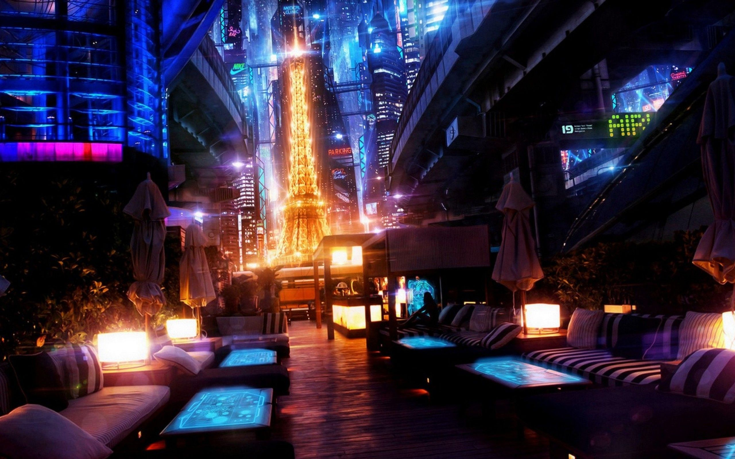cyberpunk metropolis wallpaper - photo #39