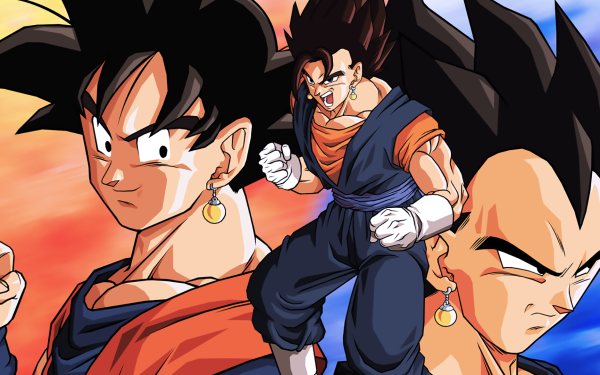Anime Dragon Ball Z Dragon Ball Goku Vegeta Vegetto HD Wallpaper | Background Image