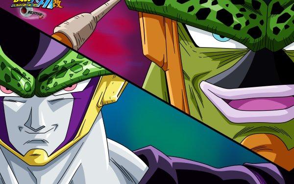 Anime Dragon Ball Z Kai Dragon Ball Cell Fond d'écran HD | Arrière-Plan