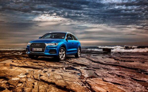 Vehicles Audi Q3 Audi SUV Blue Car Car HD Wallpaper | Background Image