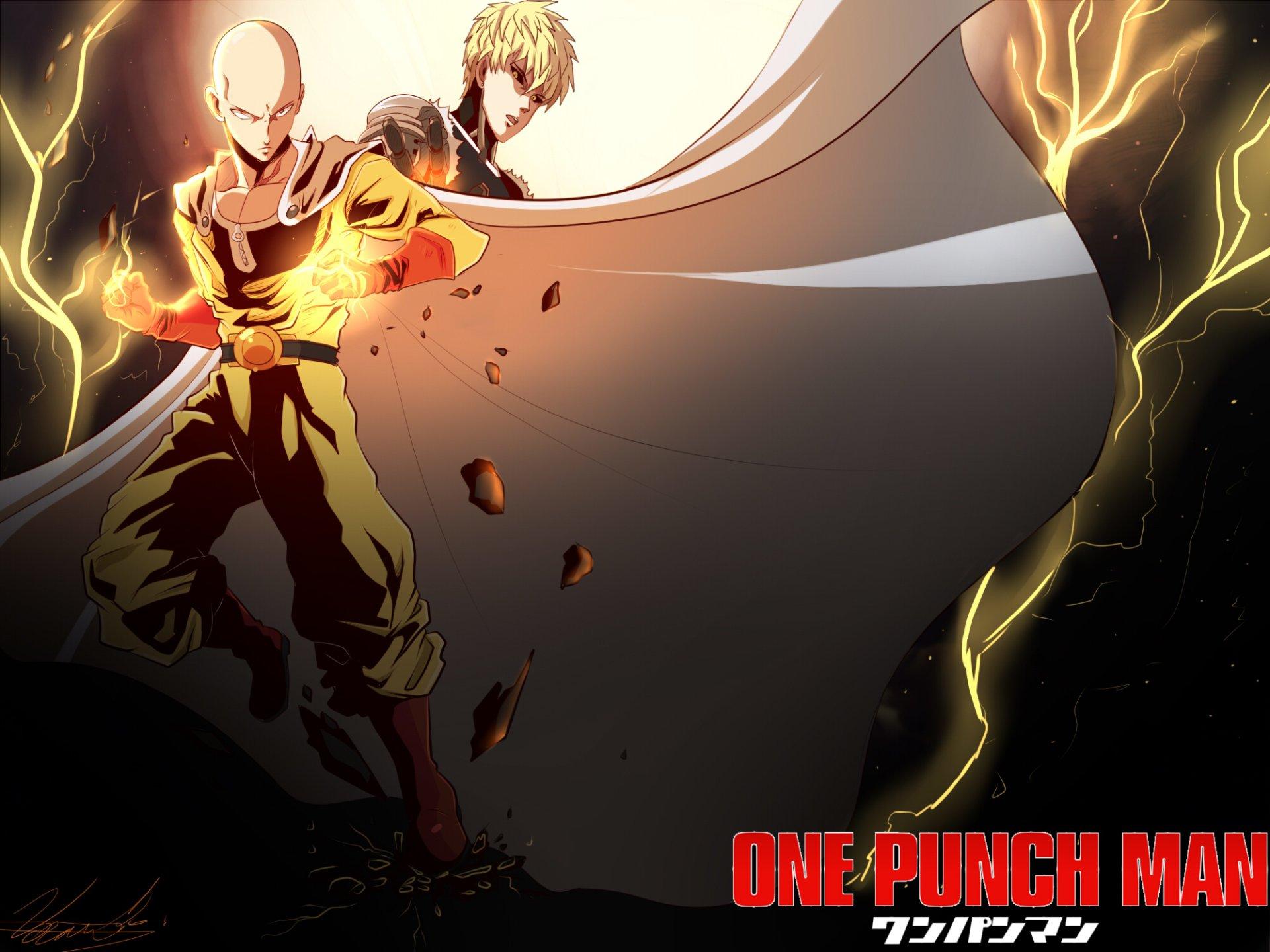 Saitama and Genos HD Wallpaper   Background Image ...