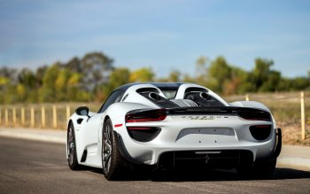 hd wallpaper background id682701 4000x2667 vehicles porsche 918 spyder - Porsche 918 Spyder White