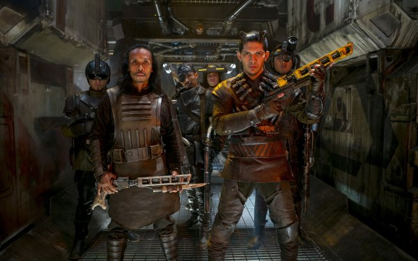 Movie Star Wars Episode VII: The Force Awakens Star Wars Iko Uwais Yayan Ruhian HD Wallpaper | Background Image