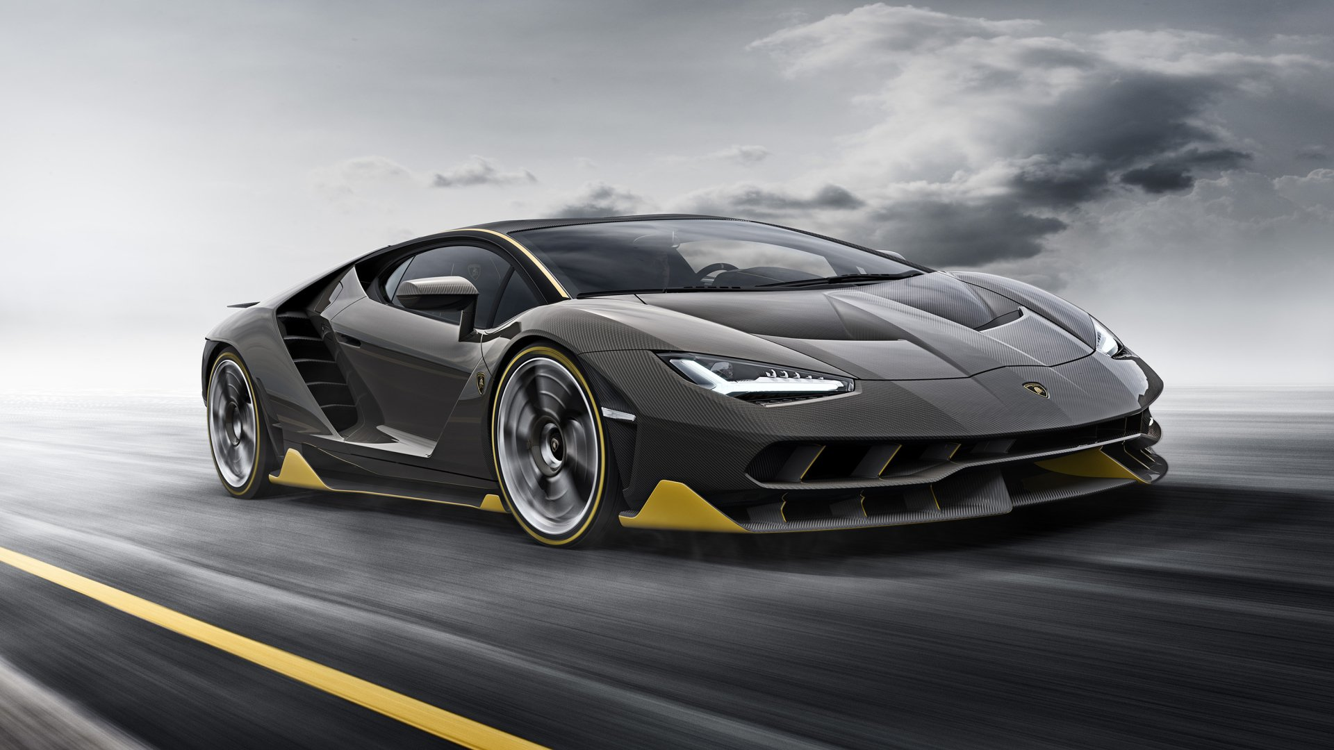 Vehicles - Lamborghini Centenario  Lamborghini Sport Car Black Car Wallpaper