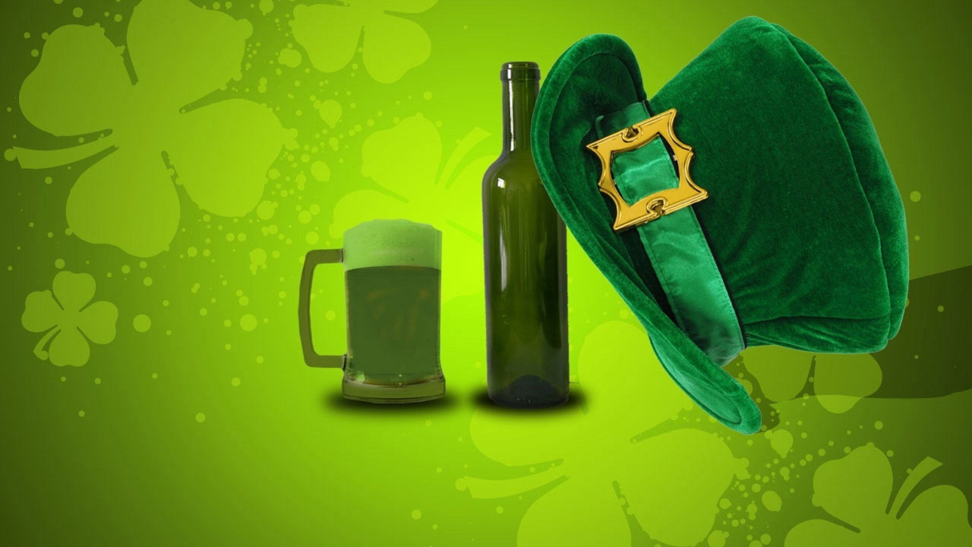 Feiertage - St. Patrick's Day  Bier Hat Wallpaper