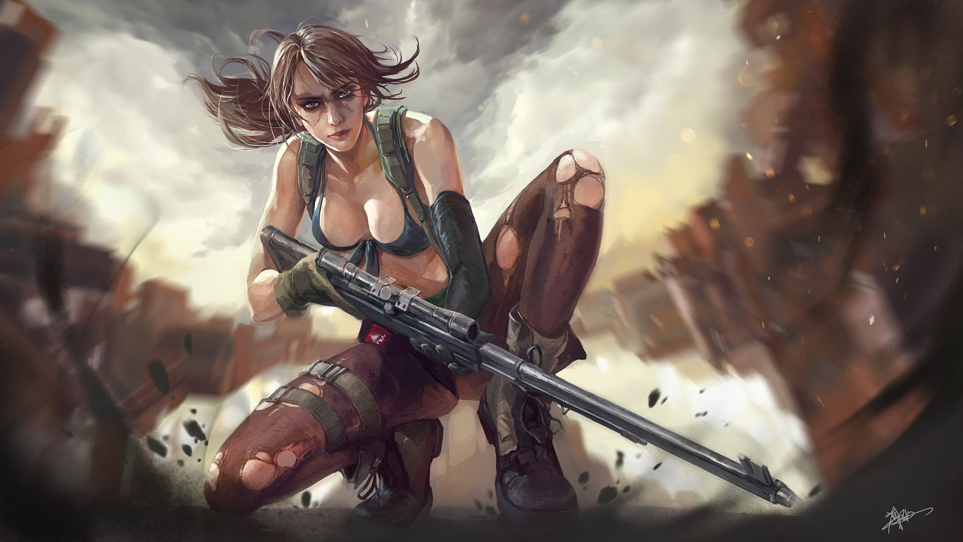 161 Metal Gear Solid V The Phantom Pain Hd Wallpapers