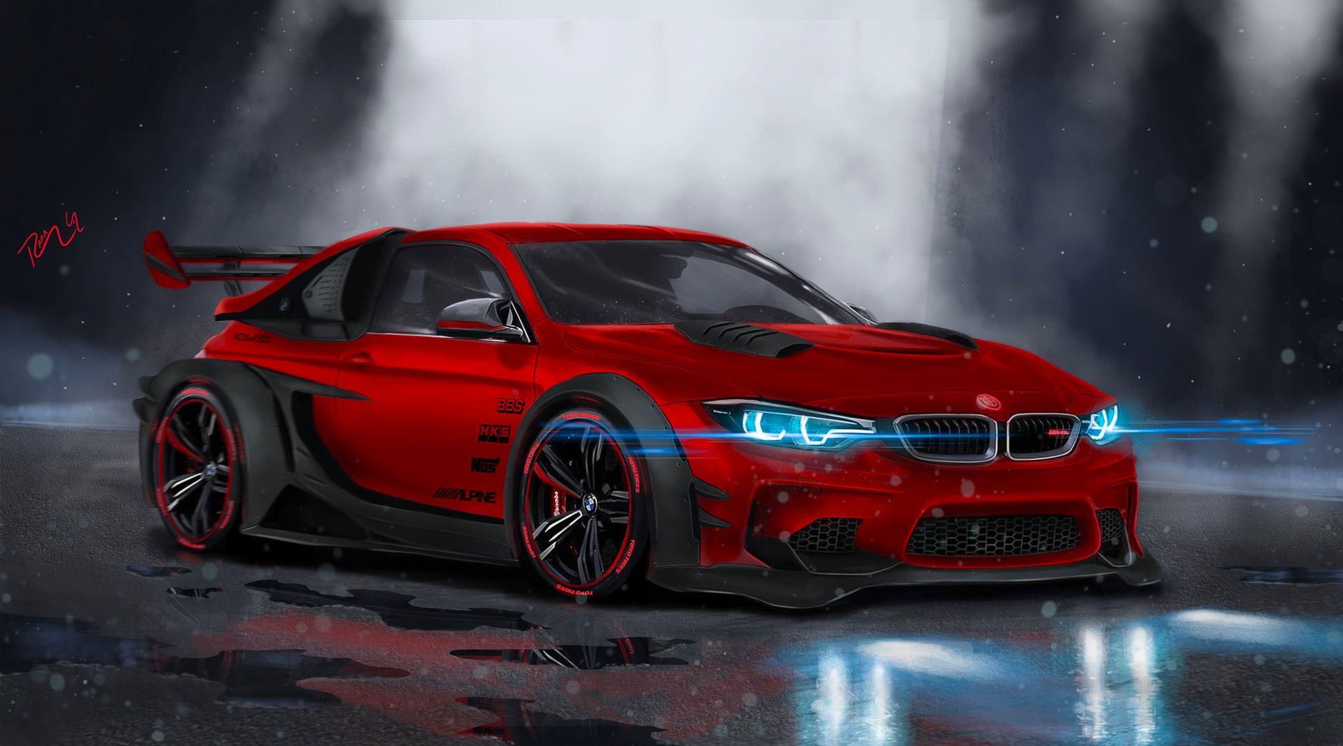 67 Bmw M4 Hd Wallpapers Background Images Wallpaper Abyss