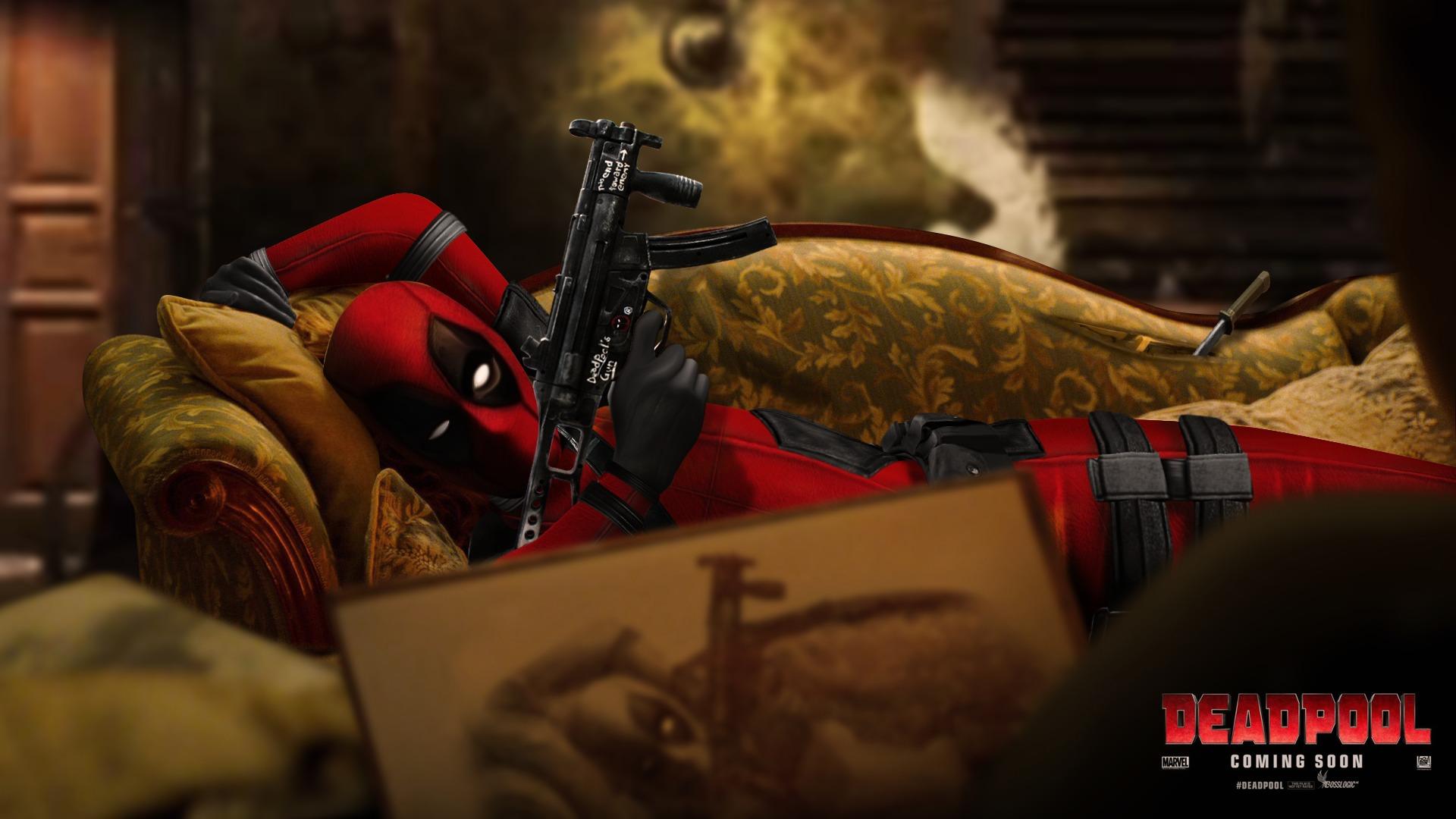 Deadpool Film Hd Wallpaper Background Image 1920x1080