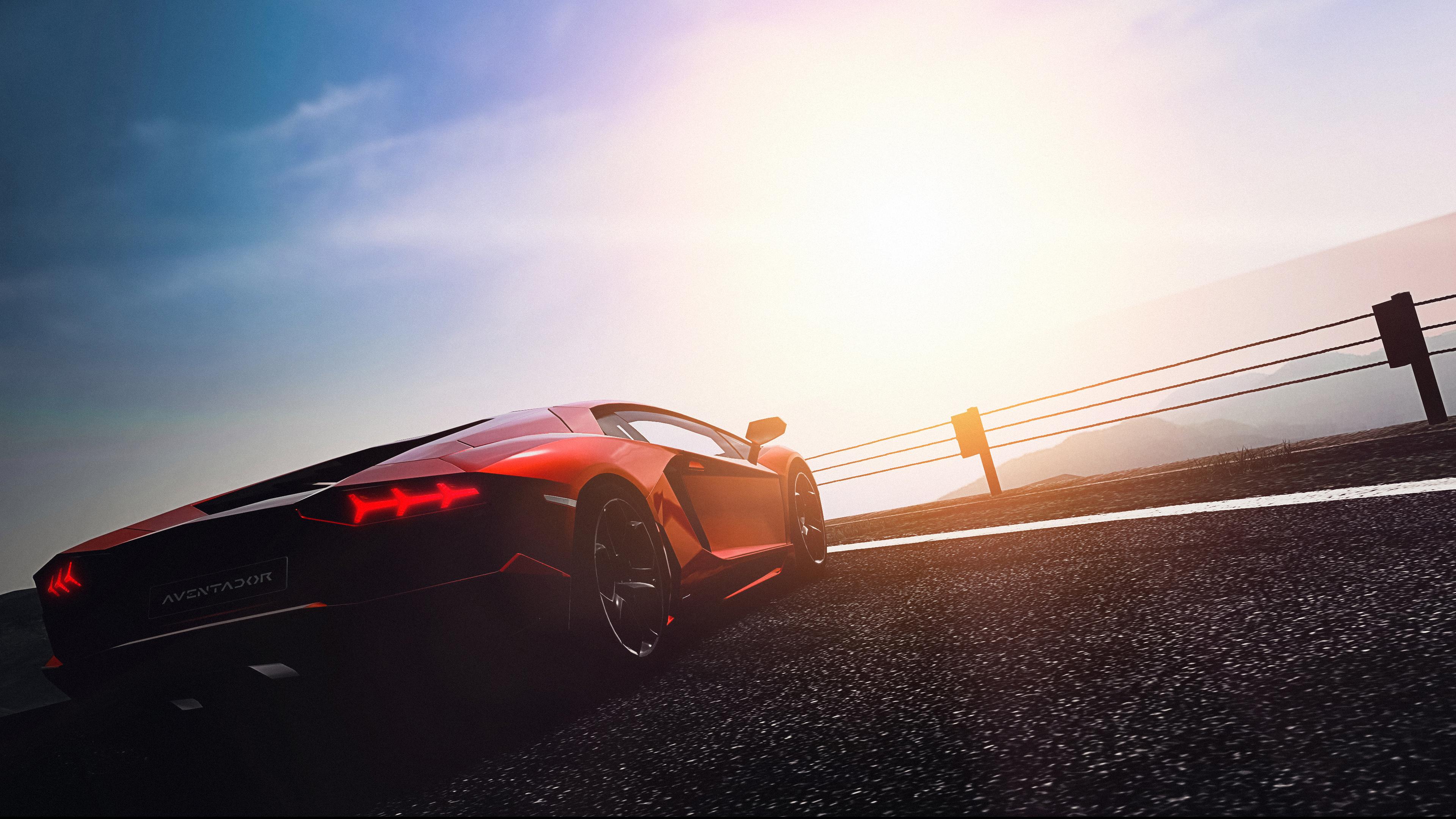 Lamborghini Aventador LP 700 4 4k Ultra HD Wallpaper