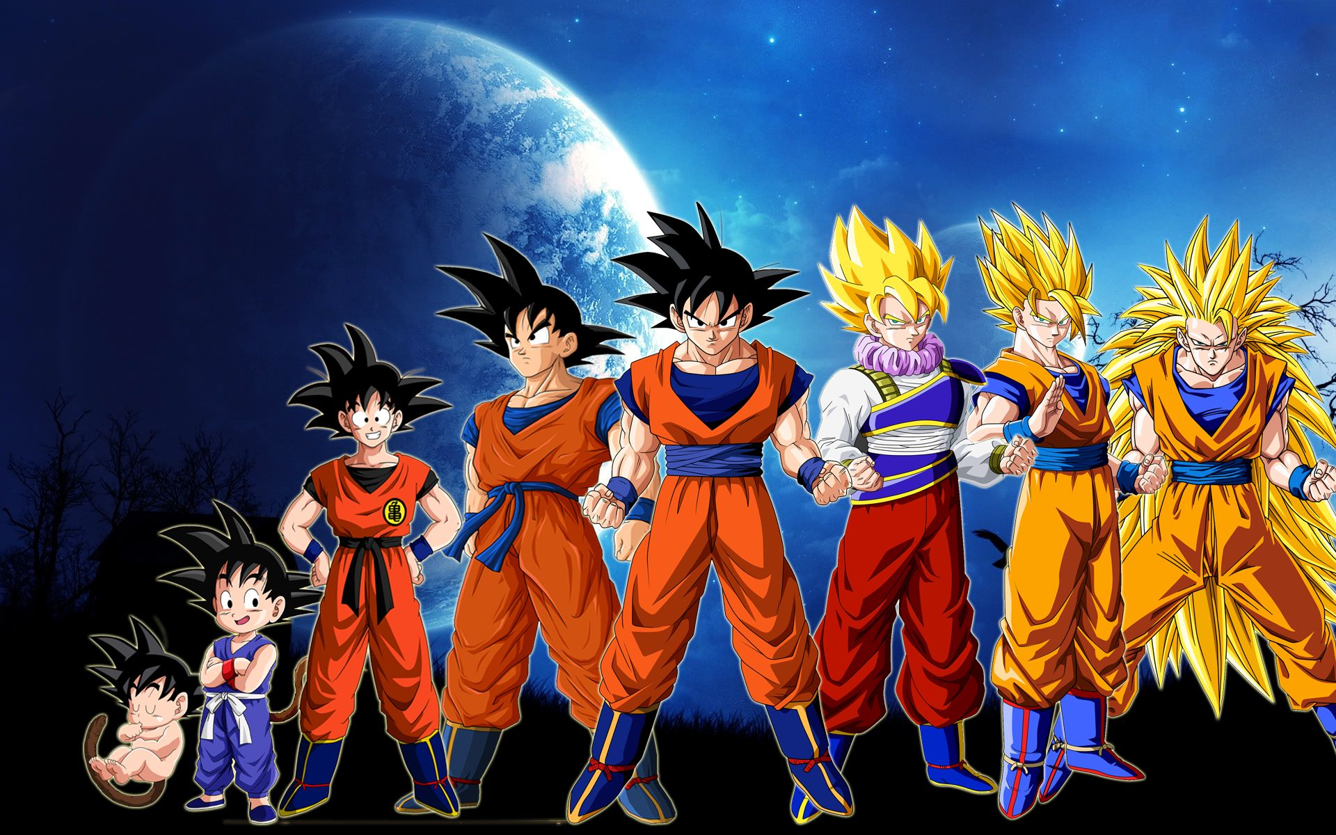Dragon ball z full hd fond d 39 cran and arri re plan for Fond ecran dbz