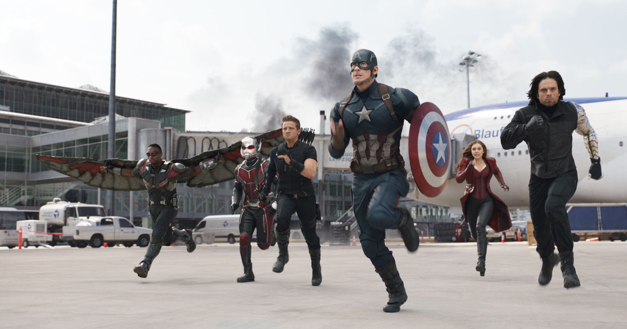 Captain America: Civil War HD Wallpaper | Sfondo | 2153x1131 | ID ...