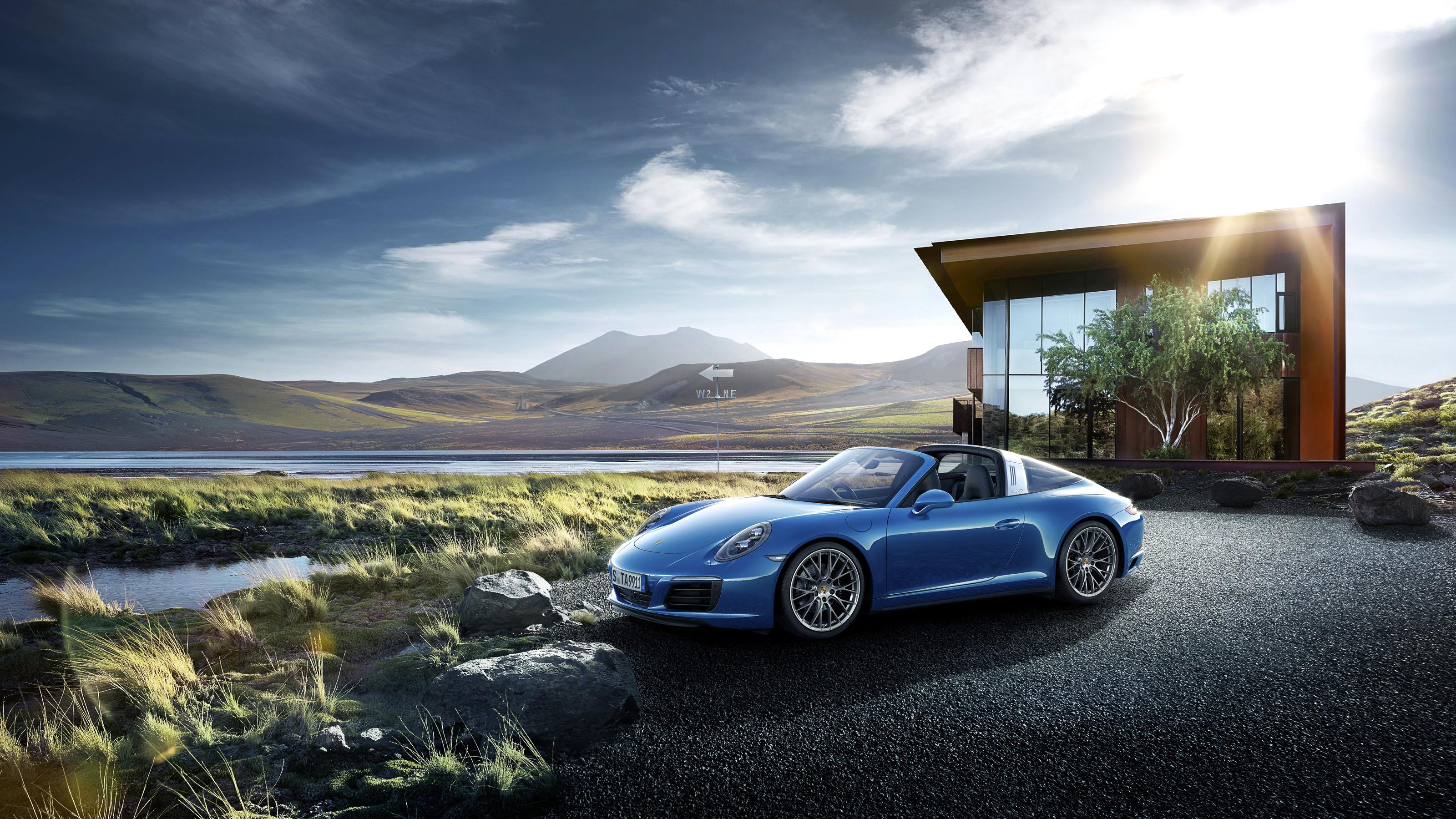 porsche 911 targa hd wallpaper | background image | 3200x1800 | id