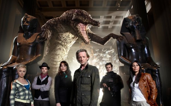 TV Show Primeval Connor Temple Andrew-Lee Potts Abby Maitland Hannah Spearritt Nick Cutter Douglas Henshall Claudia Brown Lucy Brown Sarah Page Laila Rouass Hilary Becker Ben Mansfield Creature HD Wallpaper | Background Image