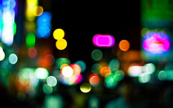 Artistic Bokeh Colors Colorful Blur Photography HD Wallpaper | Background Image