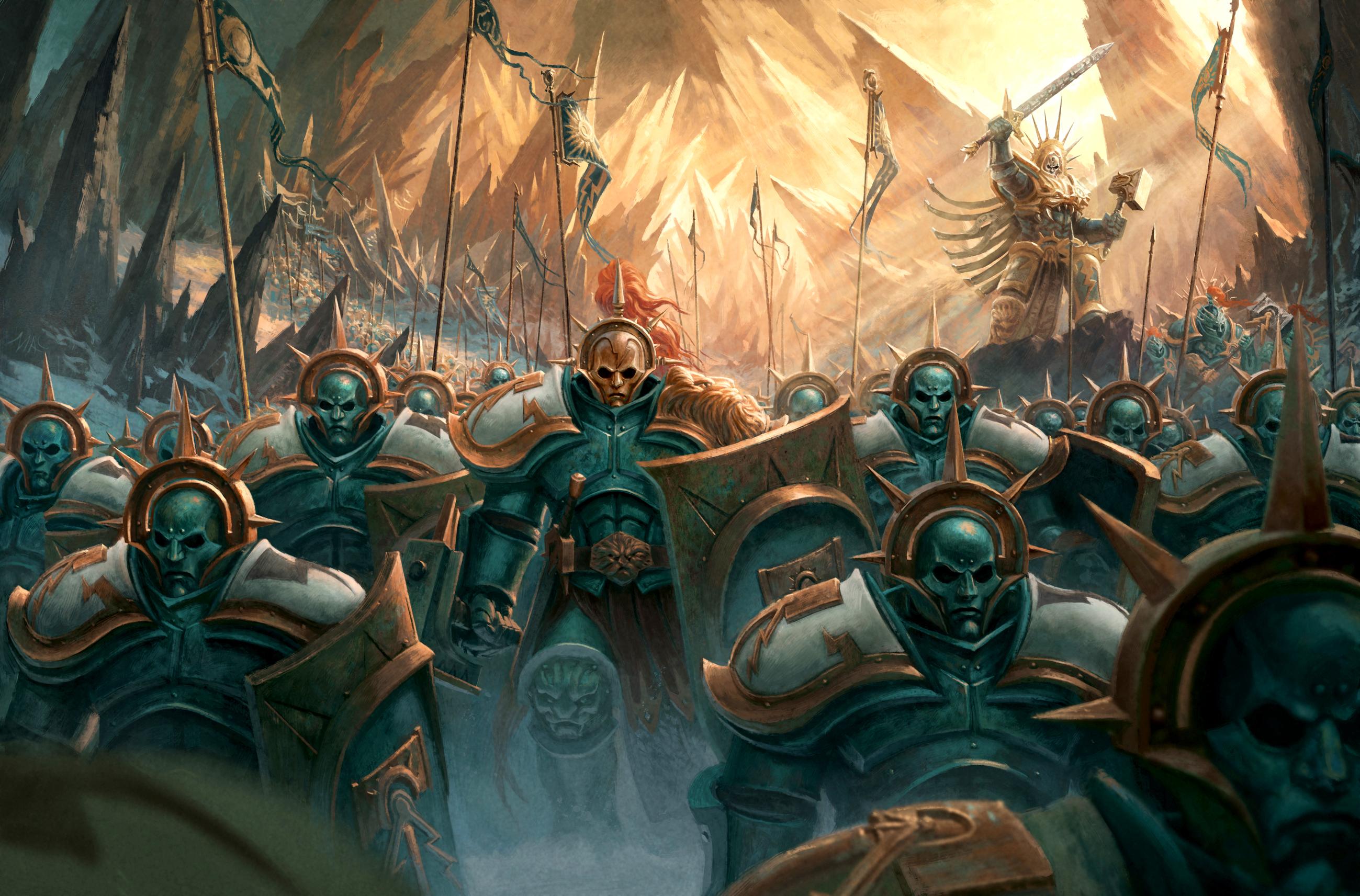 Warhammer Hd Wallpaper Background Image 2599x1713 Id 689525
