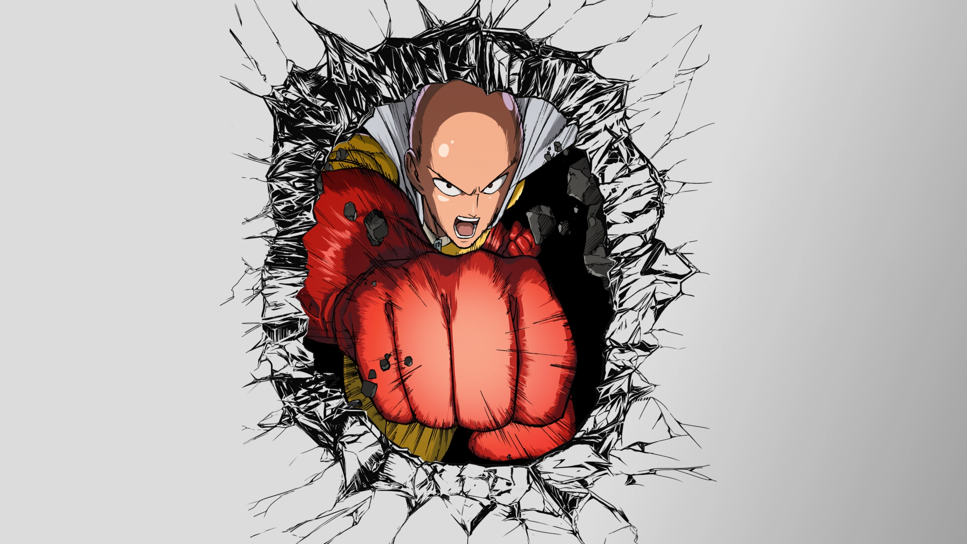 One-Punch Man Fond d'écran HD   Arrière-Plan   1920x1080   ID:689561 - Wallpaper Abyss