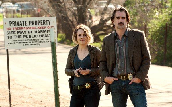 TV Show True Detective Colin Farrell Rachel Mcadams HD Wallpaper | Background Image