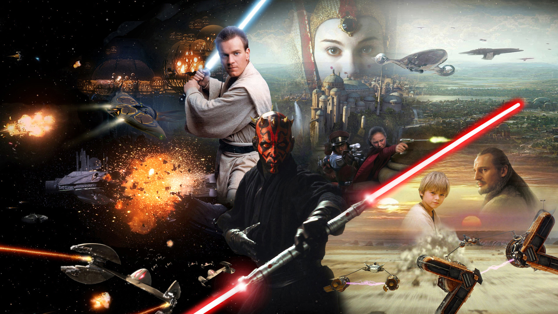 Star Wars Episode I The Phantom Menace Hd Wallpaper