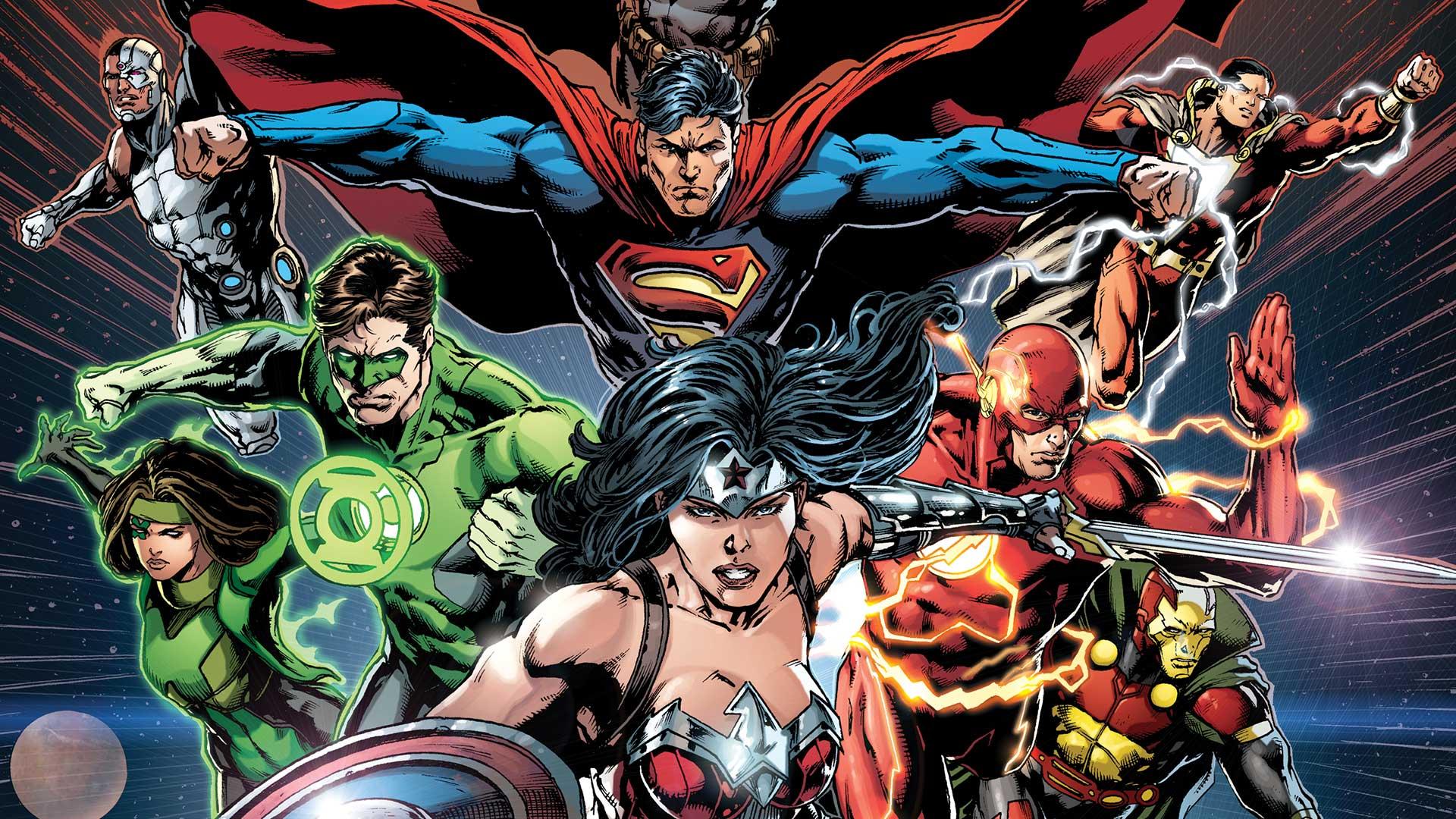 Justice League HD Wallpaper