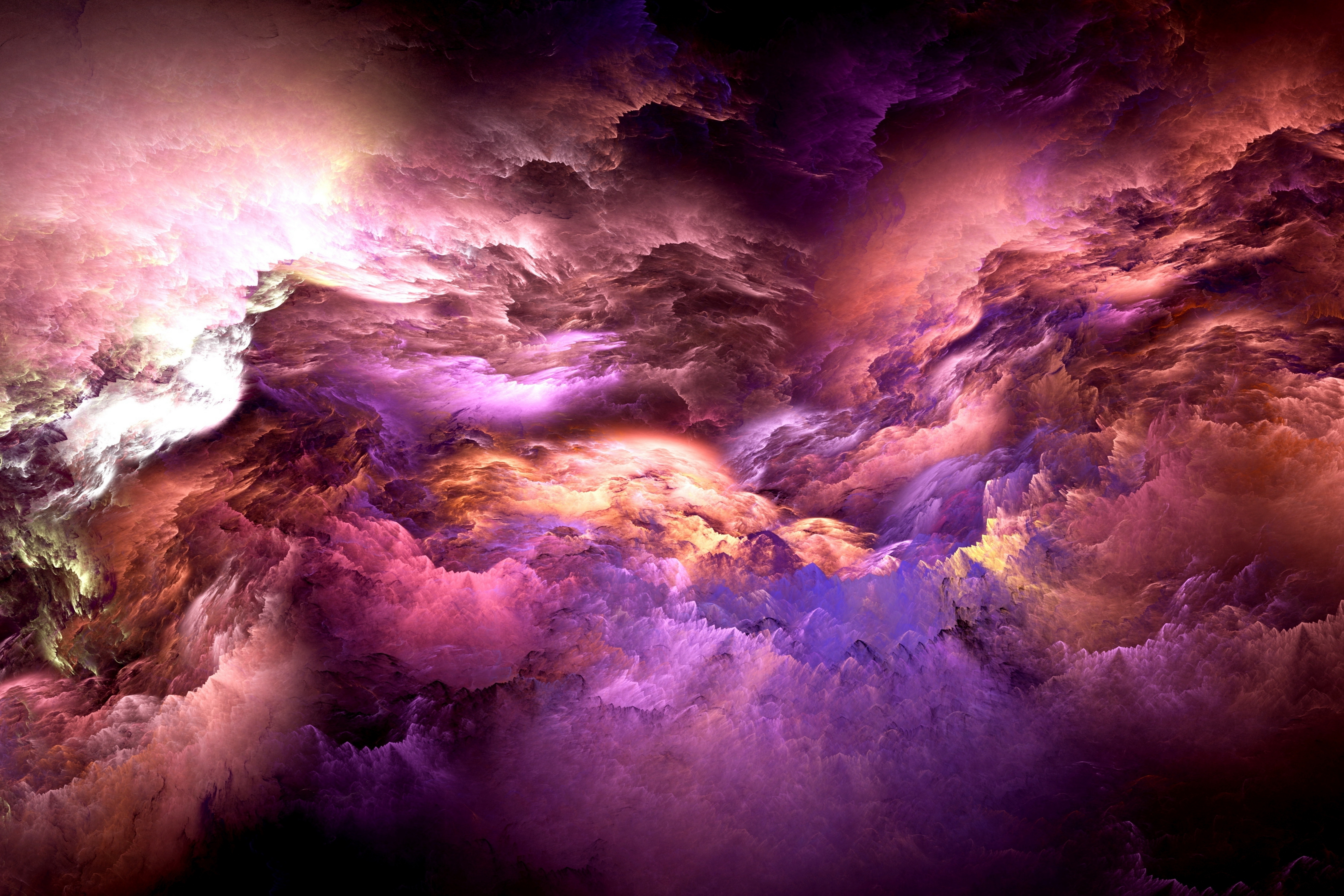 Abstract Cloud 5k Retina Ultra HD Wallpaper And Background Image