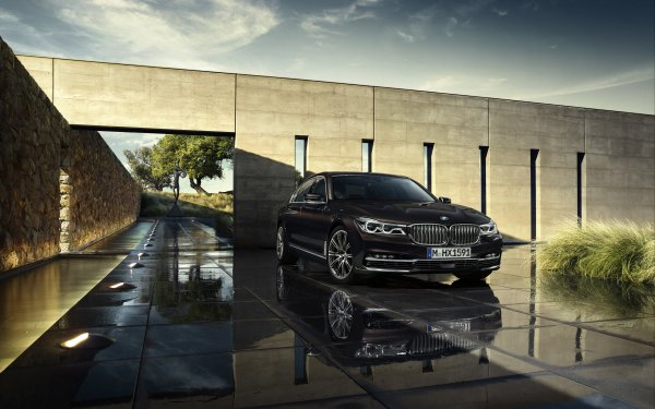 Vehicles BMW 7 Series BMW Luxury Car Black Car Car HD Wallpaper | Background Image