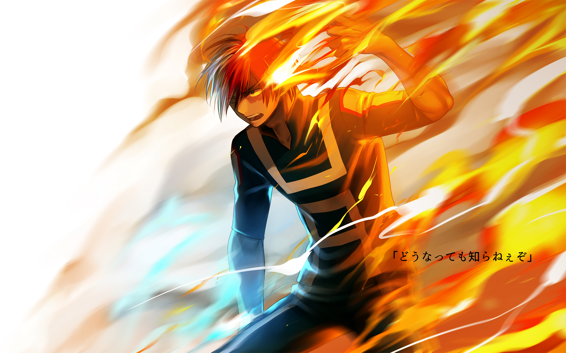 225 Shouto Todoroki Hd Wallpapers Background Images Wallpaper