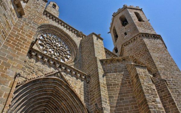 Religious Church Churches Valderrobres Spain Momument HD Wallpaper | Background Image