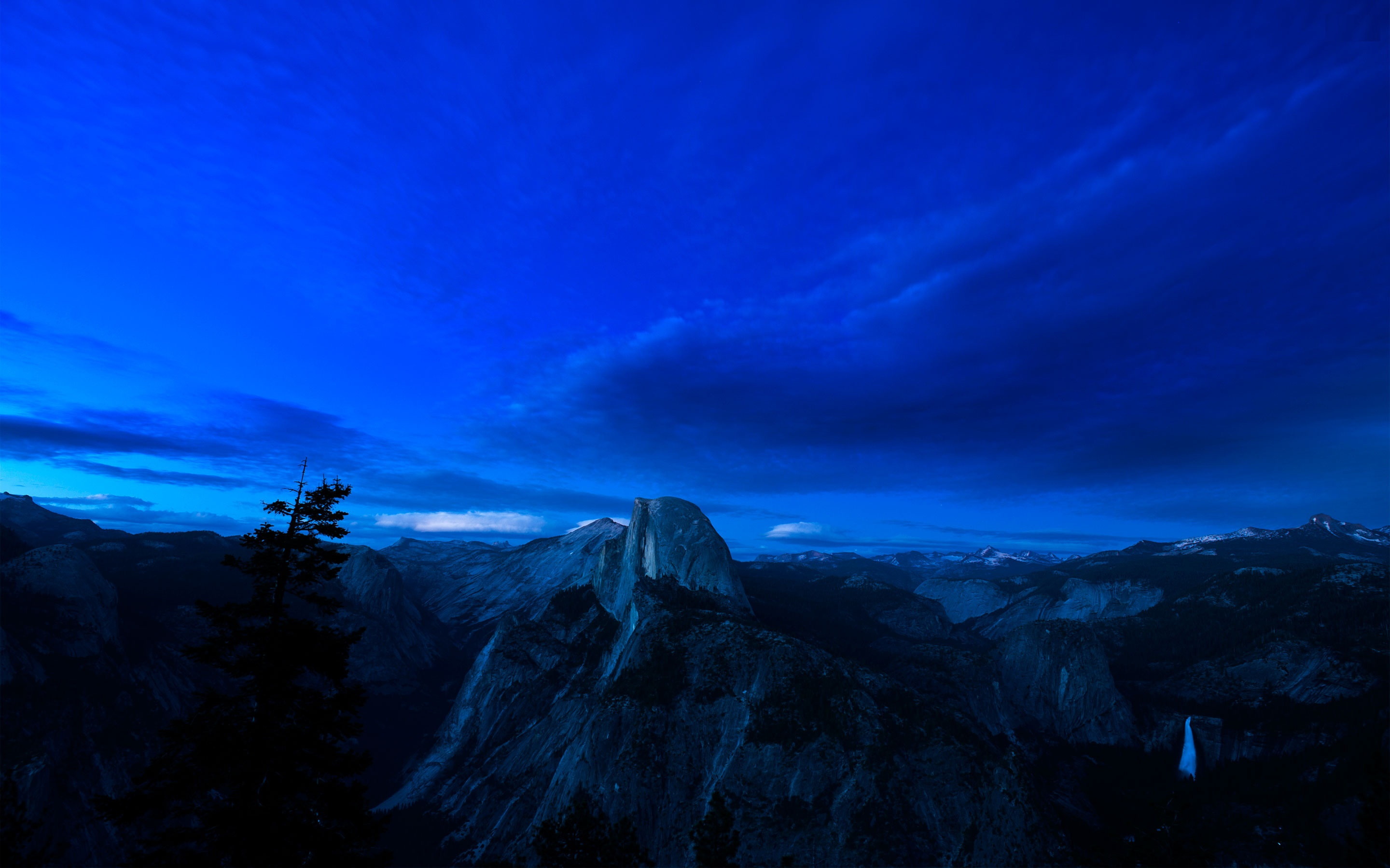 Yosemite National Park At Dusk Full HD Wallpaper And Background
