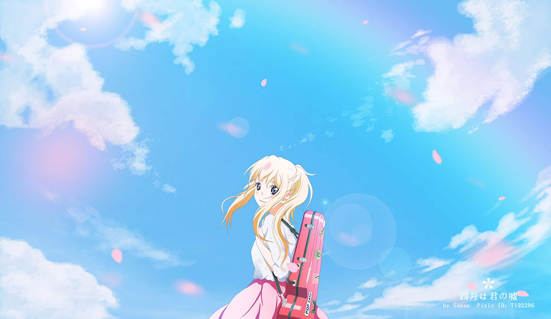 Your Lie In April Hd Wallpaper Background Image 1920x1112 Id