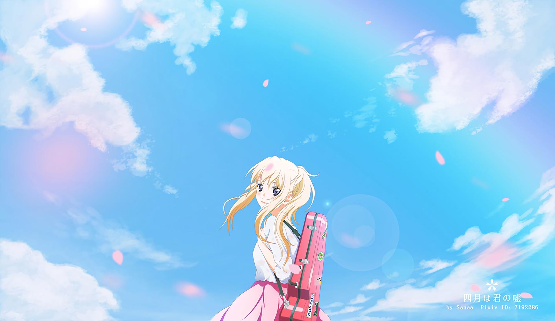 Download 62 Background Anime Shigatsu Wa Kimi No Uso Paling Keren