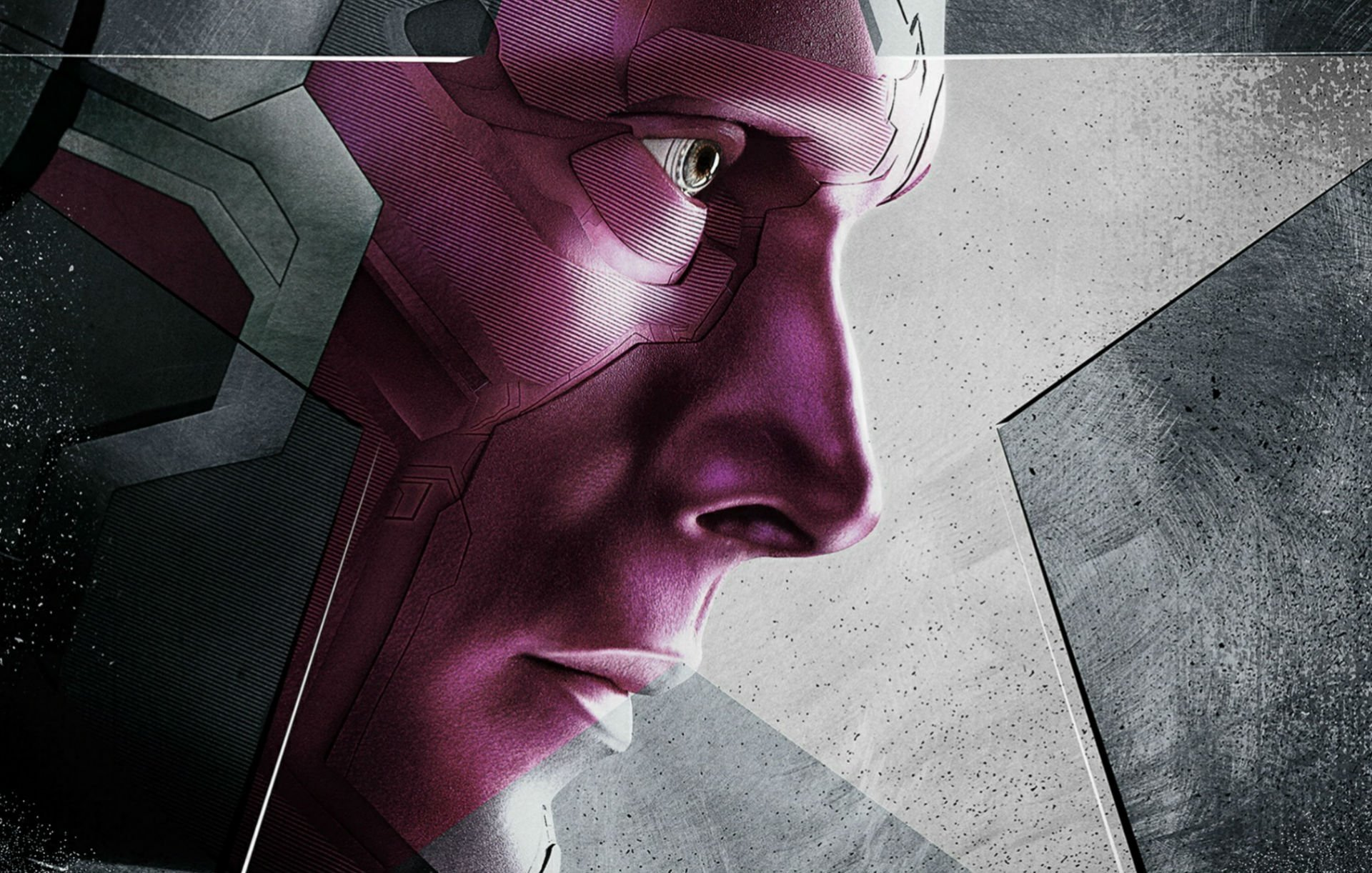 Movie - Captain America: Civil War  Superhero Marvel Comics Vision (Marvel Comics) Paul Bettany Wallpaper