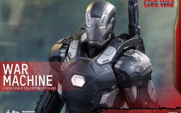 Movie Captain America: Civil War Captain America Marvel Comics Superhero War Machine Figurine HD Wallpaper | Background Image