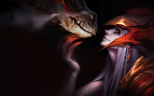 Video Game League Of Legends Shyvana HD Wallpaper | Background Image