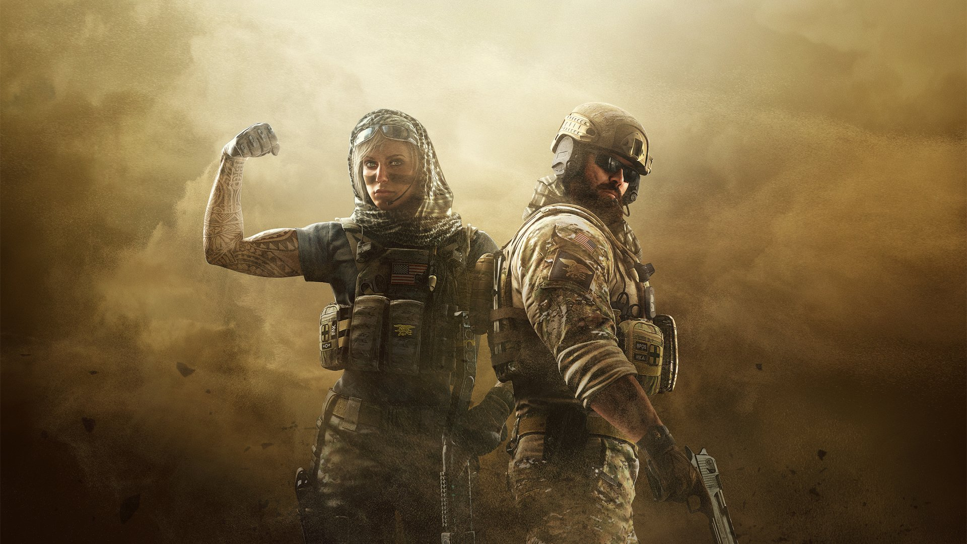 Datorspel - Tom Clancy's Rainbow Six: Siege  Blackbeard (Tom Clancy's Rainbow Six: Siege) Valkyrie (Tom Clancy's Rainbow Six: Siege) Datorspel Fog Operation Dust Line Bakgrund