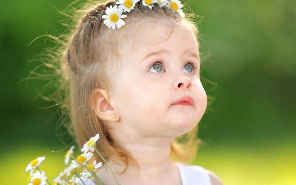 Fotografía Niño Little Girl Lindo Rubia Cara Blue Eyes Chica Fondo de pantalla HD | Fondo de Escritorio