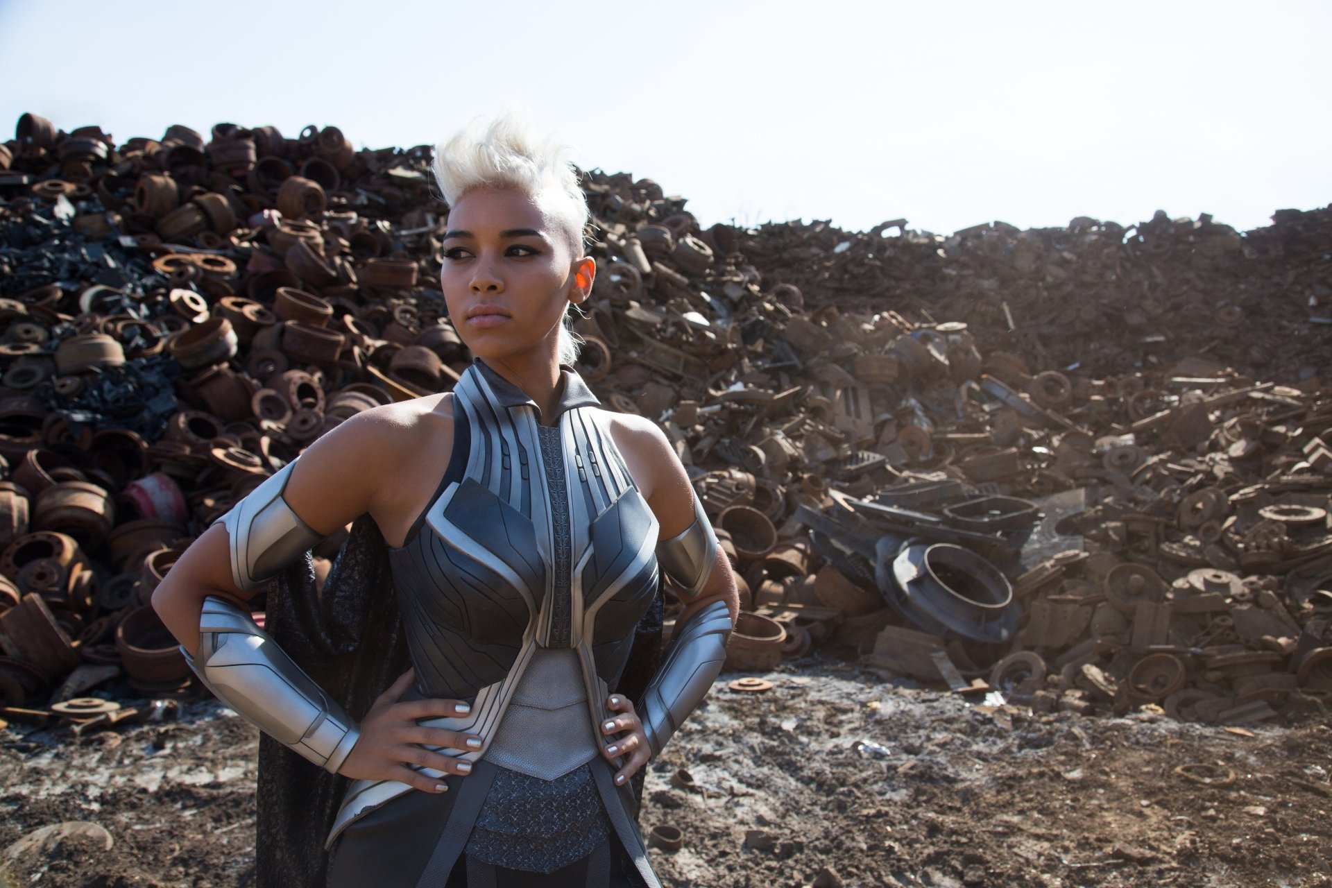 Movie - X-Men: Apocalypse  Storm (Marvel Comics) Alexandra Shipp Wallpaper