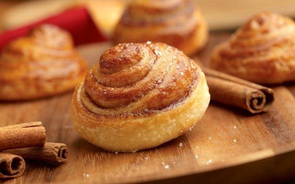 Food Dessert Cinnamon Baking HD Wallpaper | Background Image