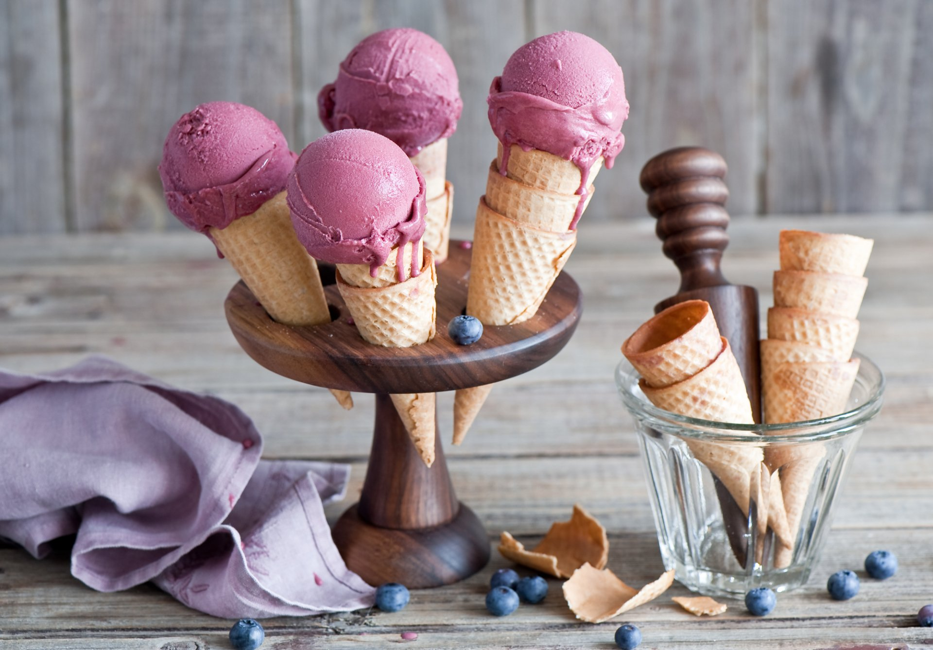 Food - Ice Cream  Still Life Summer Wallpaper