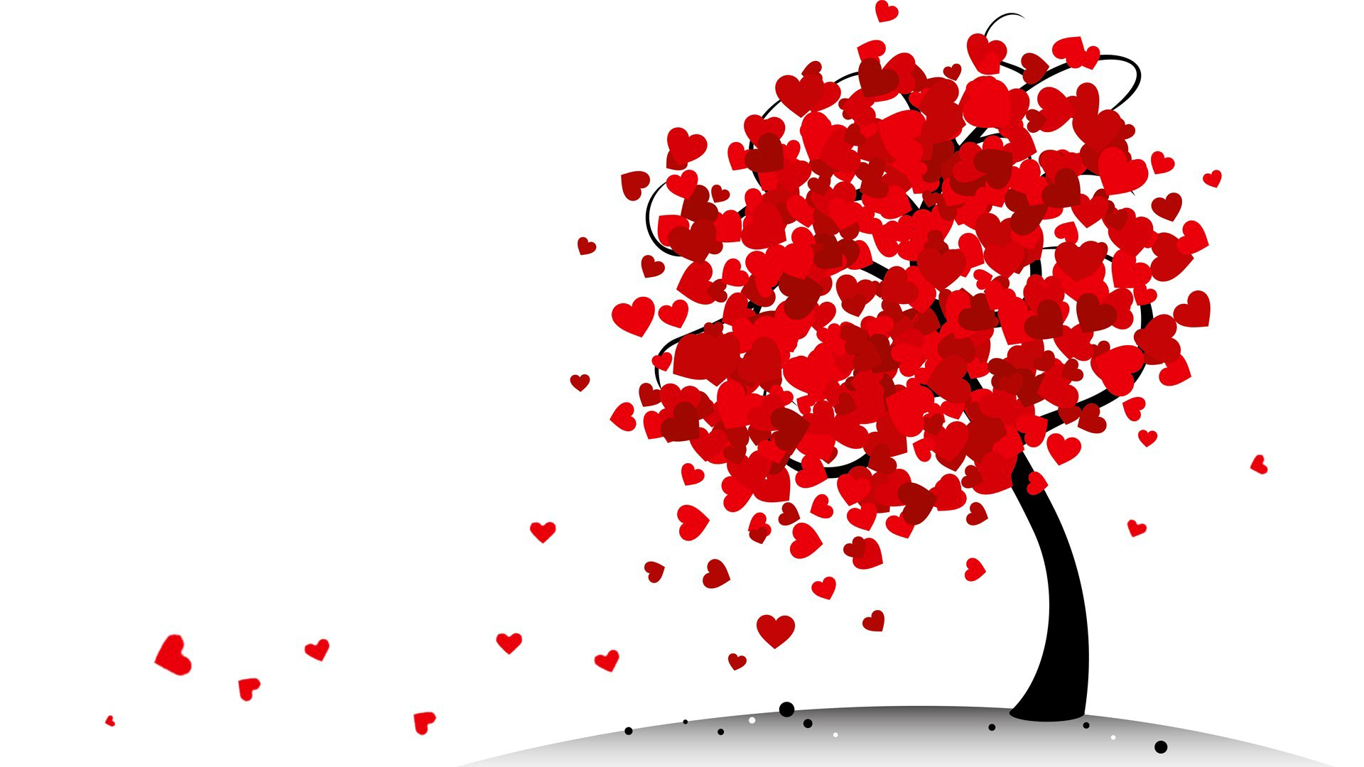 Love Tree Wallpapers : Tree of Hearts Full HD Wallpaper and Background Image 1920x1080 ID:704878
