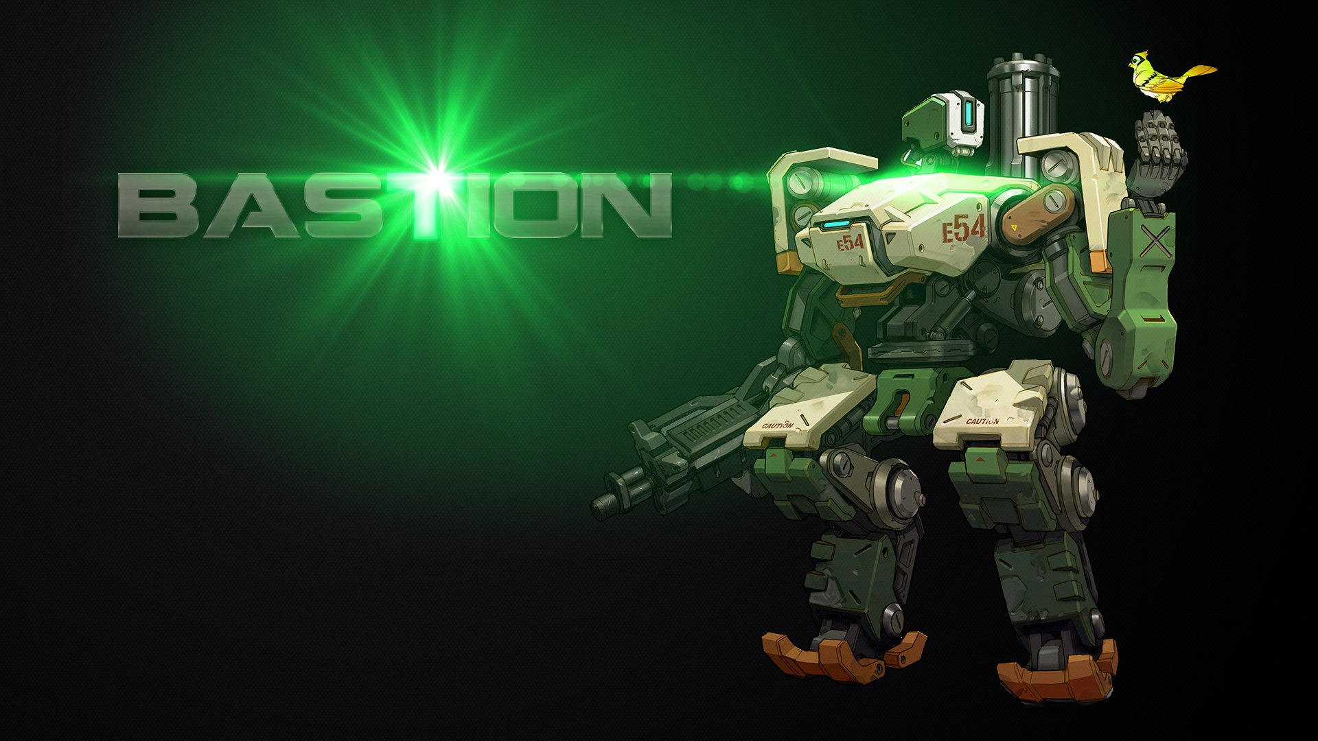 Overwatch hd wallpaper background image 1920x1080 id 704017 wallpaper abyss - Bastion wallpaper ...