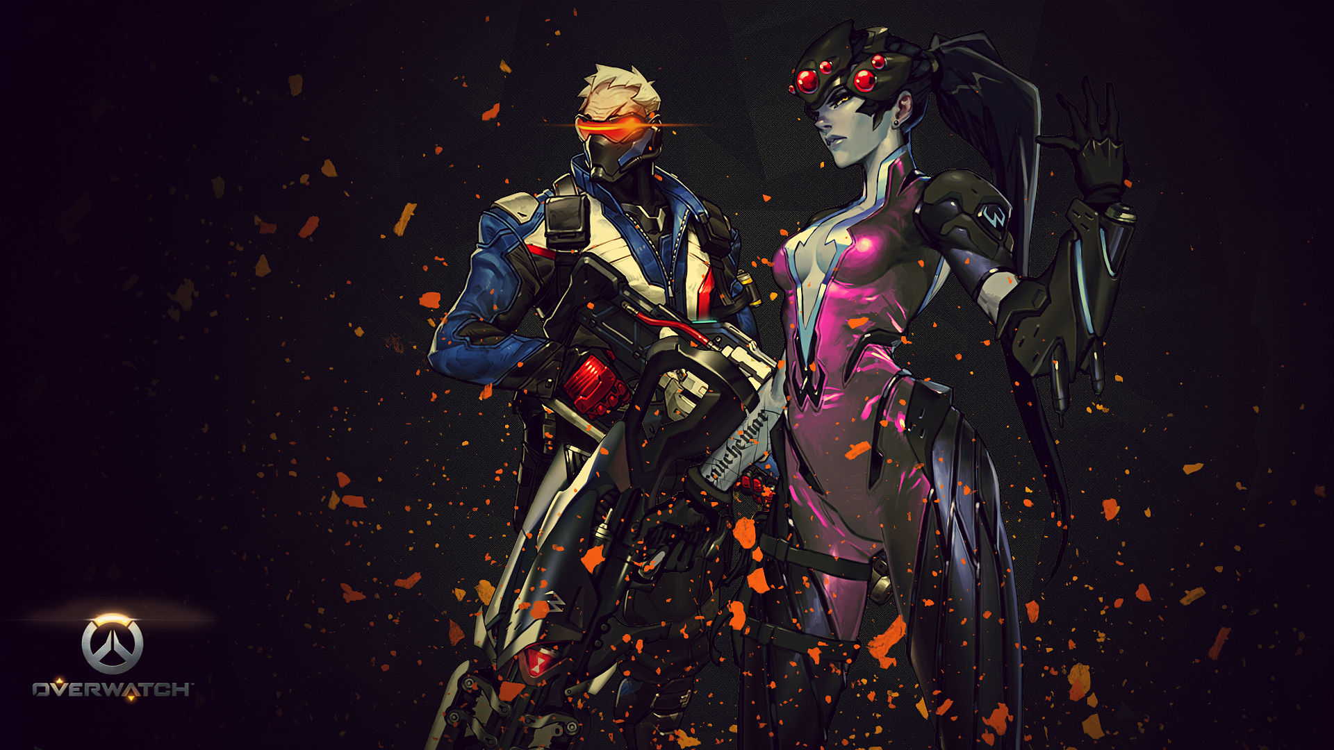 Overwatch Wallpaper Dual Monitor: 156 Widowmaker (Overwatch) HD Wallpapers