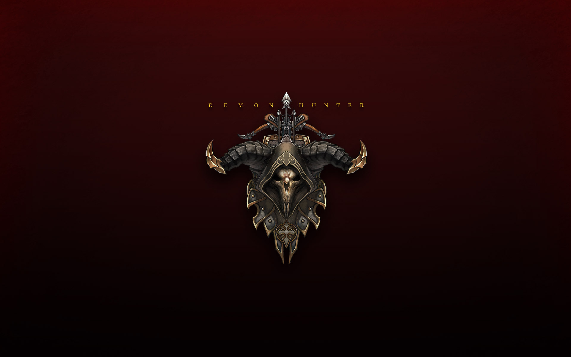Demon Hunter Emblem Full HD Wallpaper And Background Image