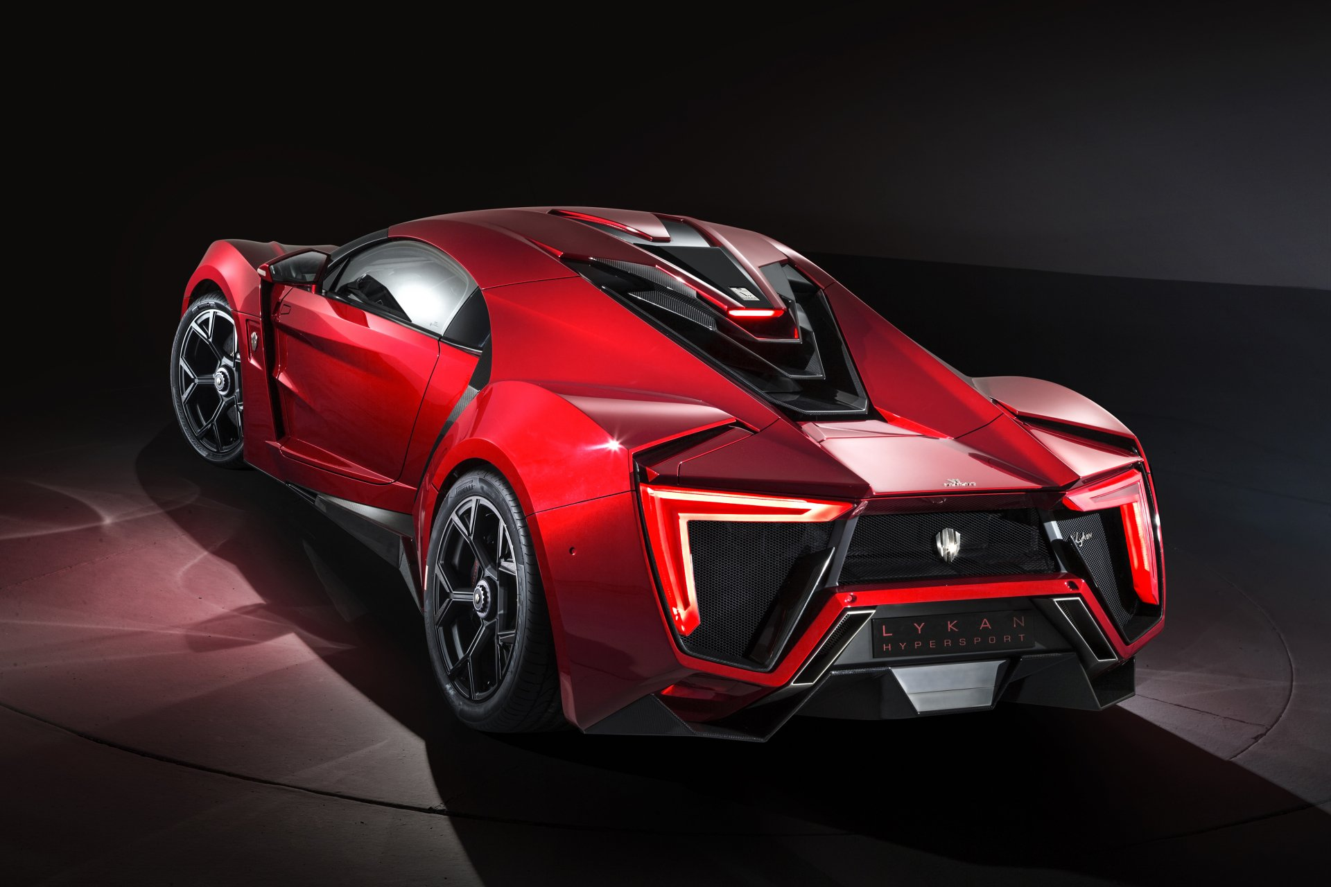 Vehicles - Lykan Hypersport  Lykan Supercar Sport Car Red Car Car Vehicle Wallpaper