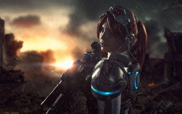 Women Cosplay Starcraft II Nova Terra HD Wallpaper | Background Image