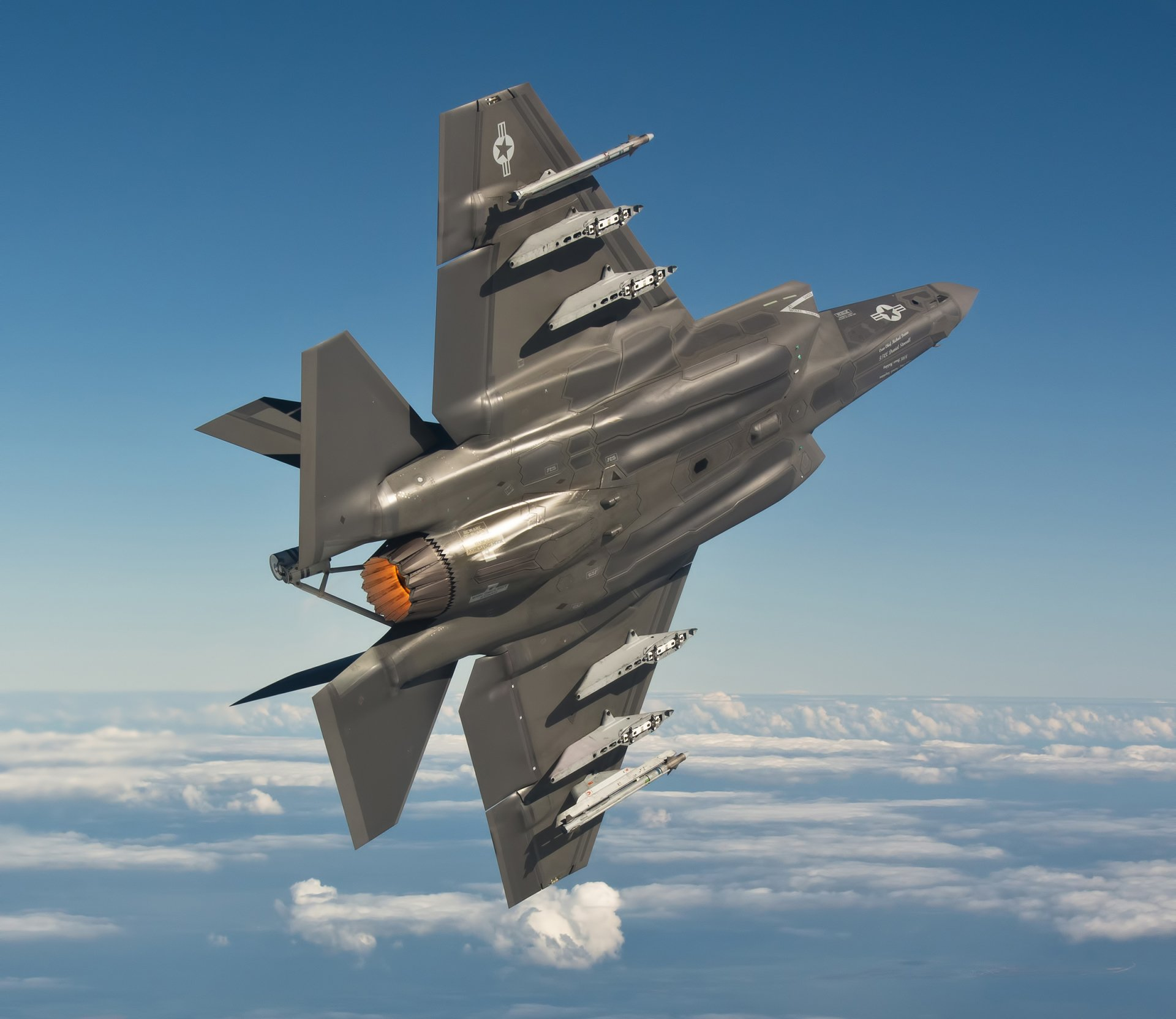 Mig 35 Hd Wallpaper: Lockheed Martin F-35 Lightning II HD Wallpaper