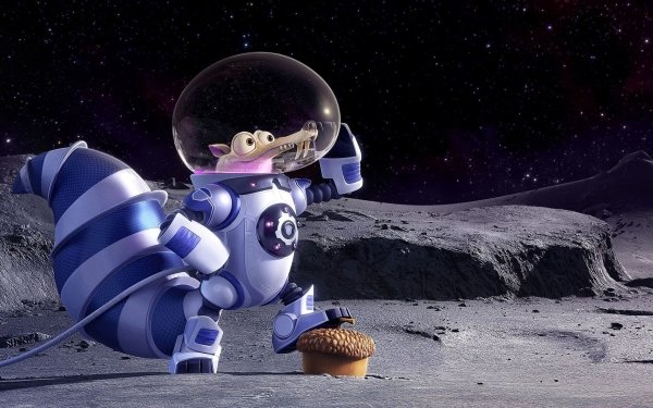Movie Ice Age: Collision Course Ice Age Scrat HD Wallpaper   Background Image