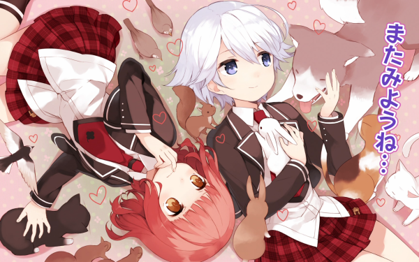Anime Anne Happy Hibiki Hagyu Ren Ekoda HD Wallpaper   Background Image